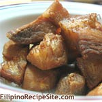 Filipino recipes favorite free filipino food recipe lechon kawali recipe is my familys favorite filipino food dish my son and daughters love them and of course my husband love them too forumfinder Images