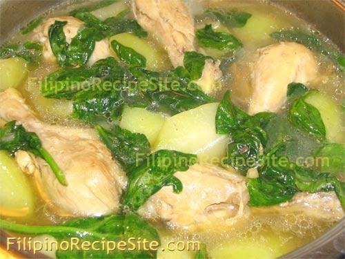 Tinolang manok or nilagang manok filipino recipe filipino tinolang manok forumfinder Images