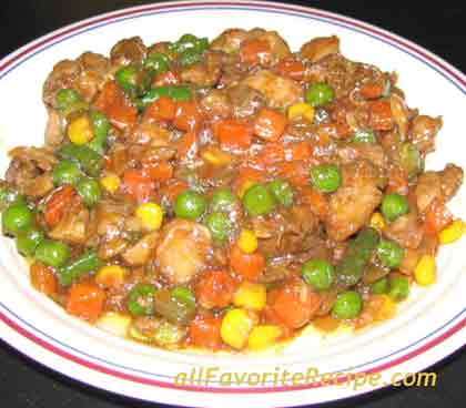 Chicken and mixed vegetables stir fry filipino recipe ingredients forumfinder Images