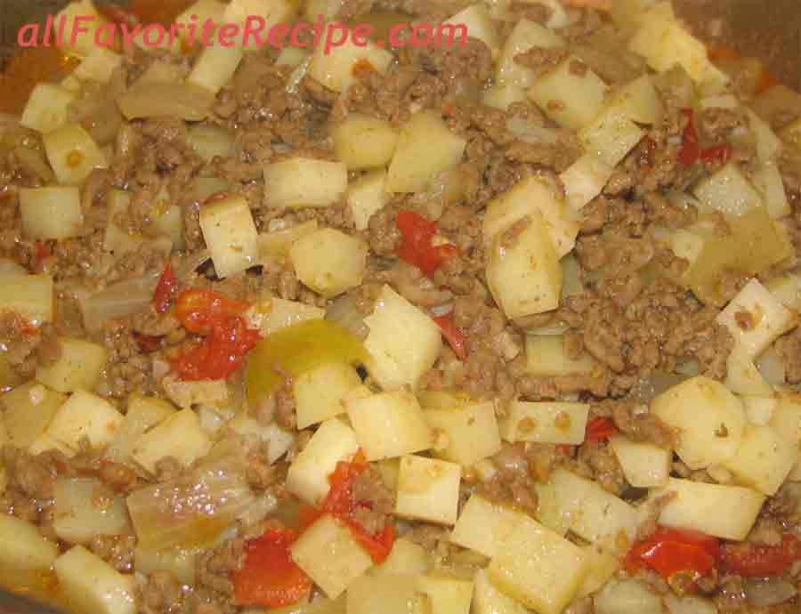 Picadillo filipino recipe ingredients forumfinder Choice Image