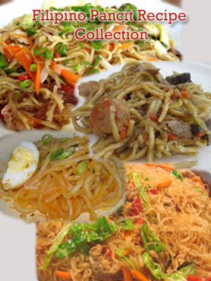 Filipino recipe a collection of free filipino recipes filipino pancit recipe collection forumfinder Images